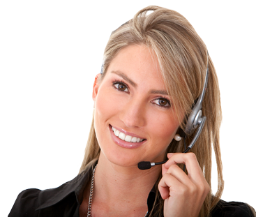 picture of young girl answering calls at cornick mountain web design
